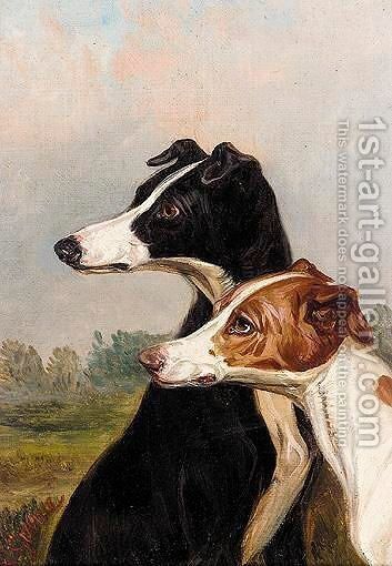 Head Studies Of Dogs by Colin Graeme Roe - Reproduction Oil Painting