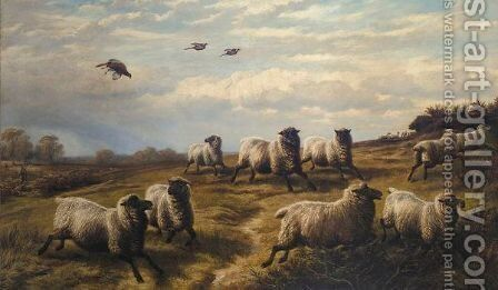 The Rough Shoot by Charles Jones - Reproduction Oil Painting