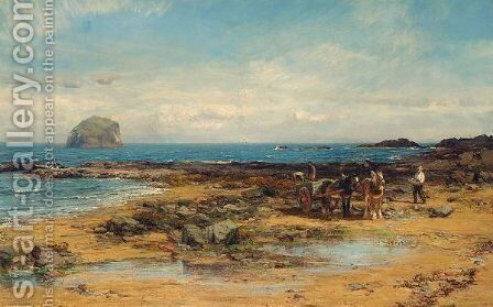 Bass Rock by David Farquharson - Reproduction Oil Painting