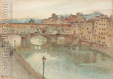 Ponte Vecchio by Harry Goodwin - Reproduction Oil Painting