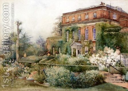 Milford Lodge by J. Thwaite - Reproduction Oil Painting