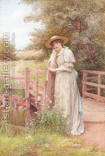 Dreaming by Charles Edward Wilson - Reproduction Oil Painting