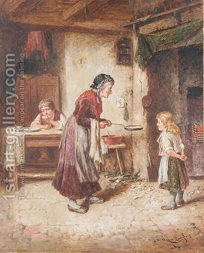 The Omlette Maker by Mark W. Langlois - Reproduction Oil Painting