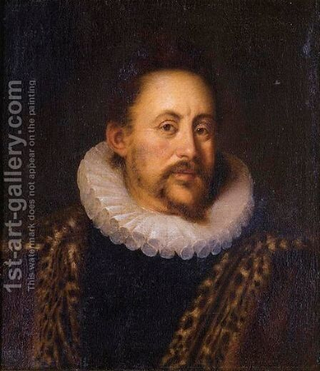 Portrait Of A Gentleman by (after) Dyck, Sir Anthony van - Reproduction Oil Painting