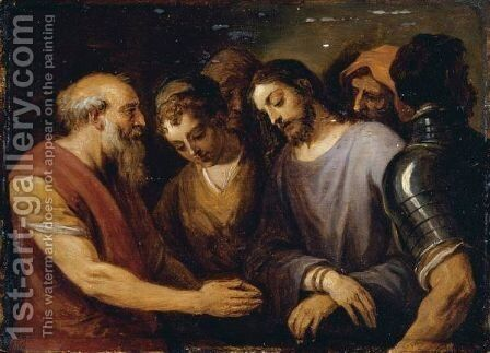 Christ Before Pilate by David The Younger Teniers - Reproduction Oil Painting