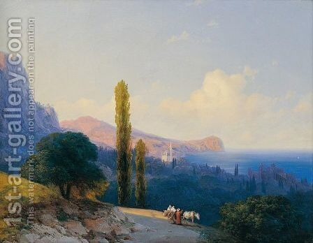 The Coast Of The Dardanelles by Ivan Konstantinovich Aivazovsky - Reproduction Oil Painting