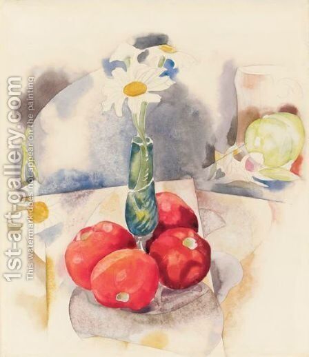 Daisies And Tomatoes by Charles Demuth - Reproduction Oil Painting