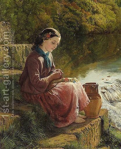 The Maid Of Derwent by Henry Hetherington Emmerson - Reproduction Oil Painting