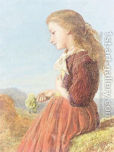 Primroses by Henry Le Jeune - Reproduction Oil Painting