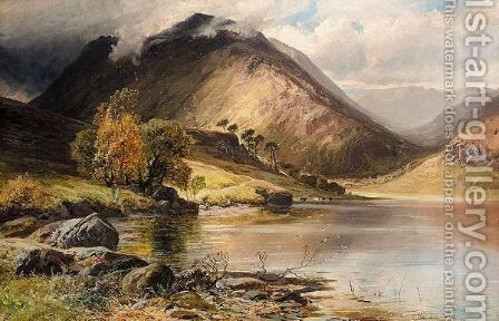 Buttermere by Clarence Roe - Reproduction Oil Painting
