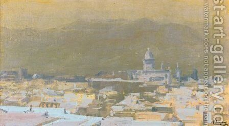 Moonlight, Tetuan, Morocco by Sir John Lavery - Reproduction Oil Painting