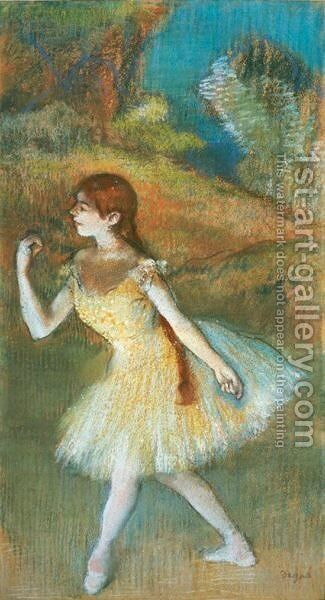 Danseuse 5 by Edgar Degas - Reproduction Oil Painting