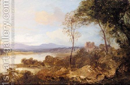Loch Leven by Horatio Macculloch - Reproduction Oil Painting