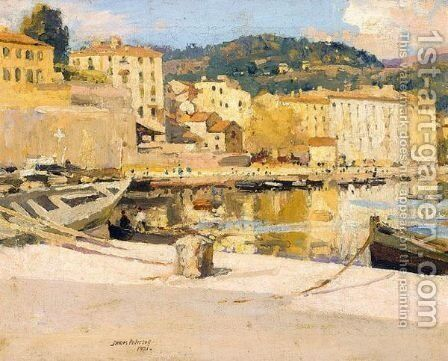 Ajaccio, Corsica From The Quay by James Paterson - Reproduction Oil Painting