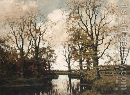 The Vordense Beek 3 by Arnold Marc Gorter - Reproduction Oil Painting