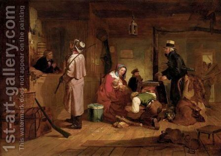 Warming Up by Charles F. Blauvelt - Reproduction Oil Painting