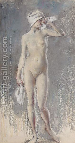 Standing Figure by Henry Tonks - Reproduction Oil Painting