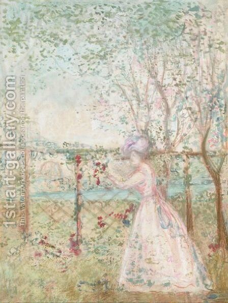 The Orchard 2 by Charles Edward Conder - Reproduction Oil Painting
