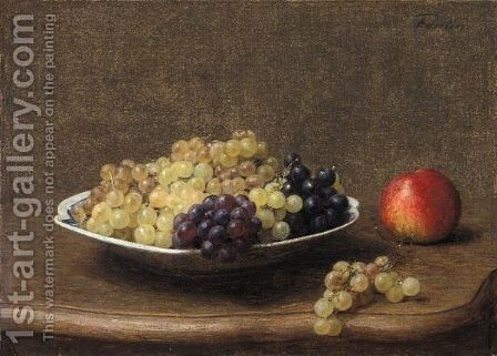 Fruits by Ignace Henri Jean Fantin-Latour - Reproduction Oil Painting