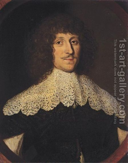 The duke of Newcastle by (after) Gilbert Jackson - Reproduction Oil Painting