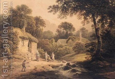 Watercolour by (after) Nicholson, F. - Reproduction Oil Painting
