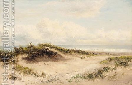 Sand dunes by Benjamin Williams Leader - Reproduction Oil Painting