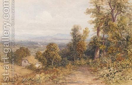 Near Ludlow by David Hall McKewan - Reproduction Oil Painting