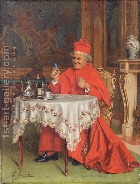 Patience by Andrea Landini - Reproduction Oil Painting