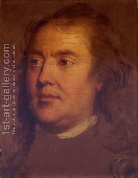 Portrait Of A Man, Said To Be The Artist's Father, Ismael Mengs (1728-1779) by (after) Mengs, Anton Raphael - Reproduction Oil Painting