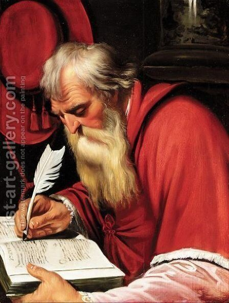 Saint Jerome In His Study by Artus Wolffort - Reproduction Oil Painting