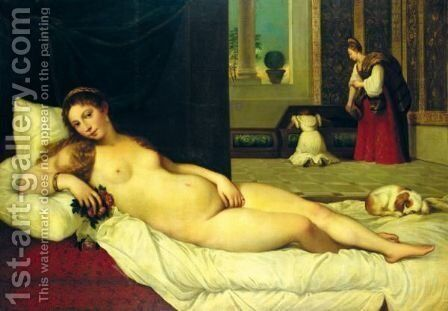 The Venus Of Urbino by (after) Orazio Vecellio - Reproduction Oil Painting