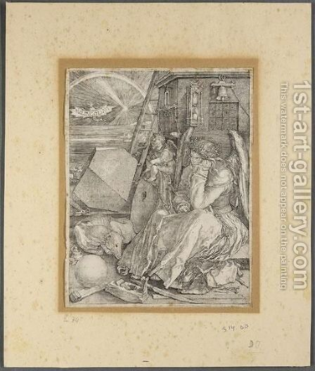 Melencolia I by Albrecht Durer - Reproduction Oil Painting
