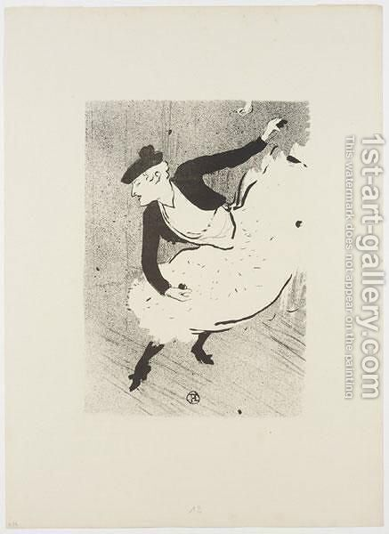 Edmee Lescot by Toulouse-Lautrec - Reproduction Oil Painting
