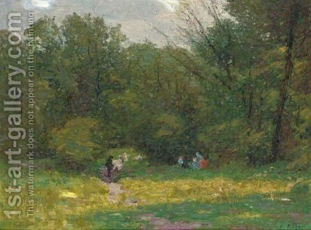 Landscape by Edward Henry Potthast - Reproduction Oil Painting