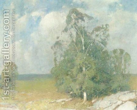 Trees In Full Summer by Emil Carlsen - Reproduction Oil Painting
