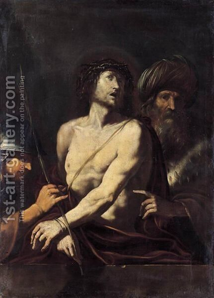 Ecce Homo 3 by Italian School - Reproduction Oil Painting