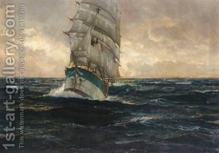 Sailing At Sunset by Michael Zeno Diemer - Reproduction Oil Painting