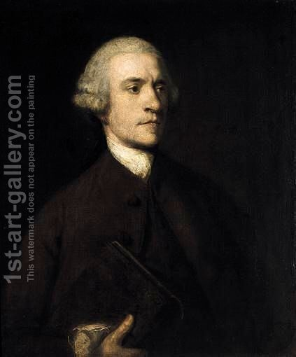 Portrait Of Thomas Jaffray (1717-1767) by Sir Joshua Reynolds - Reproduction Oil Painting