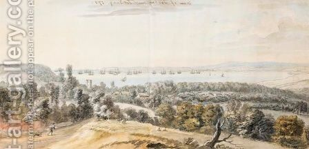 View Of Torbay by Coplestone Warre Bampfylde - Reproduction Oil Painting