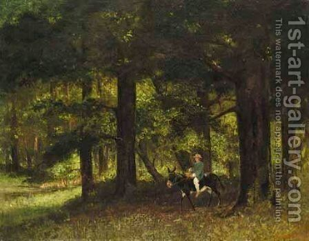 Le Parc De Rochemont by Gustave Courbet - Reproduction Oil Painting