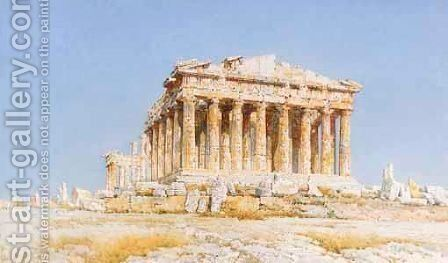 The Parthenon by Angelos Giallina - Reproduction Oil Painting