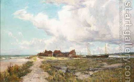The Estuary by Charles I'anson - Reproduction Oil Painting