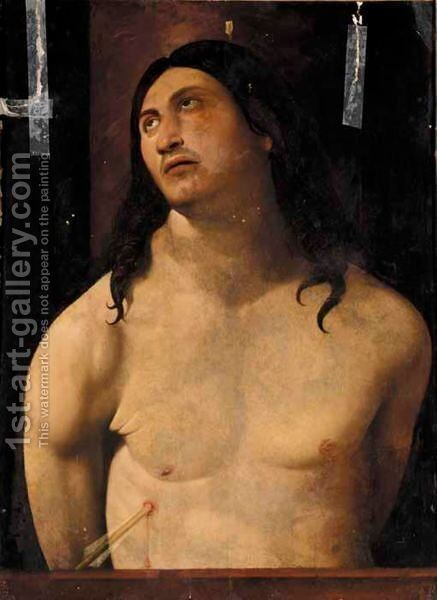Saint Sebastian by (after) Antonello Da Messina Messina - Reproduction Oil Painting