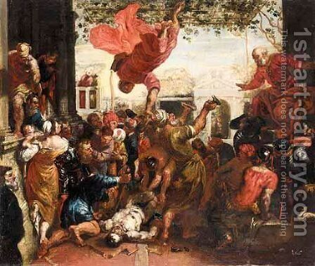 The Miracle Of Saint Mark by (after) Jacopo Tintoretto (Robusti) - Reproduction Oil Painting