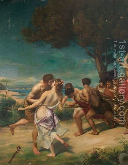 The Triumph Of Bacchus by Carolus (Charles Auguste Emile) Duran - Reproduction Oil Painting