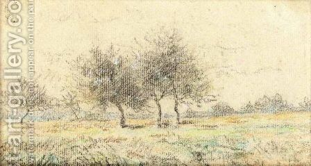 Paysage 4 by Camille Pissarro - Reproduction Oil Painting
