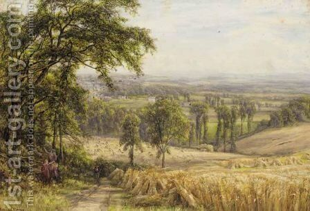 Harvest Time by Edmund George Warren - Reproduction Oil Painting