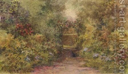 The Rose Arch by Helen Mary Elizabeth Allingham, R.W.S. - Reproduction Oil Painting