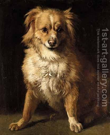 Fido by Charles Verlat - Reproduction Oil Painting