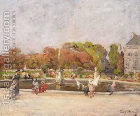 Luxembourg Gardens, Paris by Ciro Cozzolino - Reproduction Oil Painting